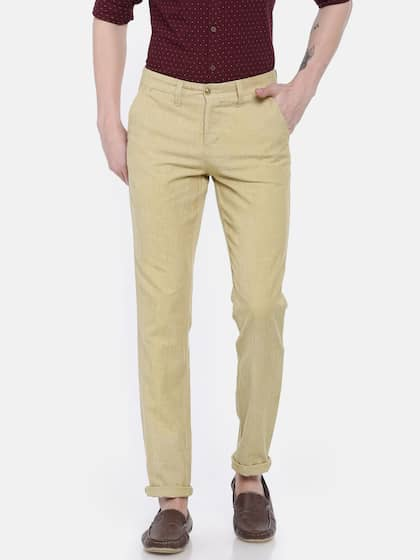 5b9cd23e3d21 Oxemberg Trousers - Buy Oxemberg Pants   Trouser Online in India