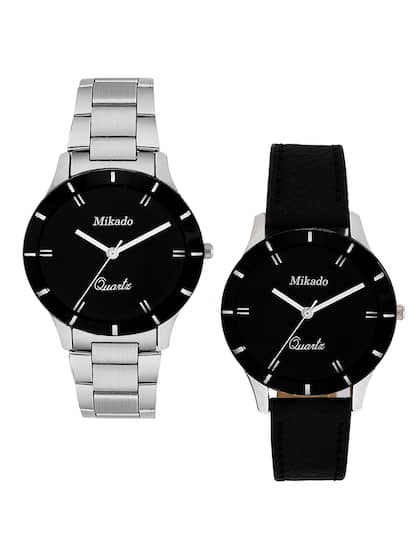 97ea8cd66 Pair Watches - Buy Couple Watches Online in India - Myntra