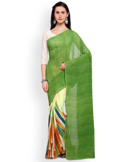 969a466037 Half & Half Sarees - Buy Half Sarees Online in India - Myntra