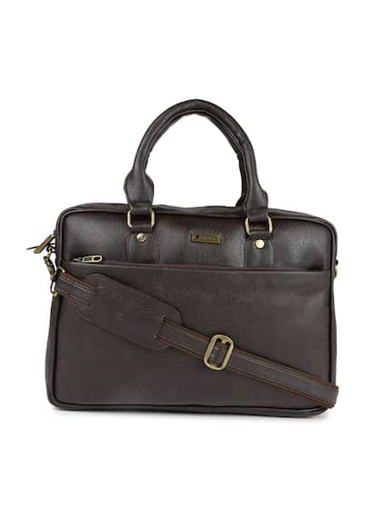 Impulse Unisex Brown Solid Laptop Bag