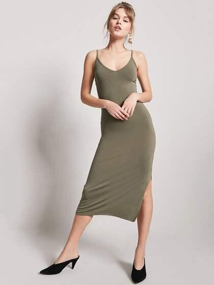 8d4ba085bf Forever 21 Midi Dresses - Buy Forever 21 Midi Dresses online in India