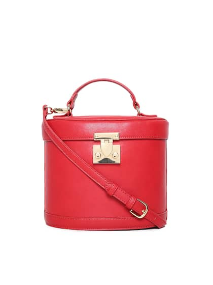 Forever 21 Red Solid Satchel