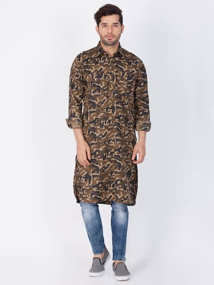 c83cfe27c Men Pathani Kurtas - Buy Pathani Kurtas for Men Online | Myntra