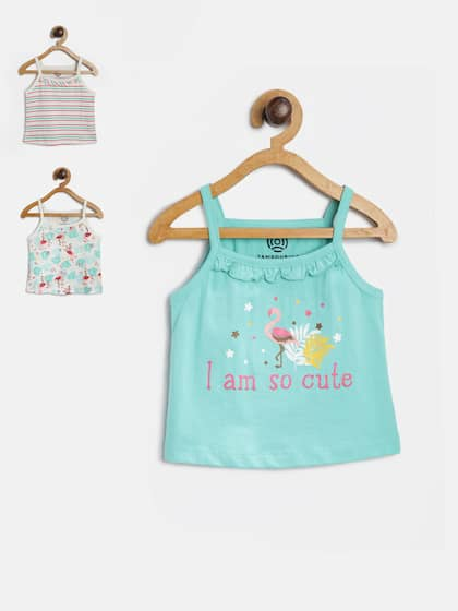 8ff86e13f235a Girls Tops - Buy Stylish Top for Girls Online in India