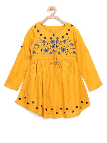 0d0e8e91028f3 Girls Dresses - Buy Frocks & Gowns for Girls Online | Myntra