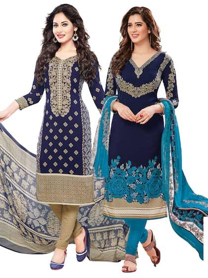a5b5609e86e Dress Materials - Buy Ladies Dress Materials Online in India