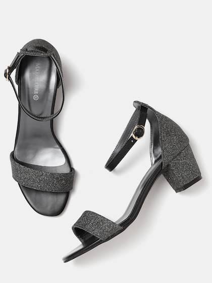 67fda314dc2 Black Heels - Buy Black Heels Online in India