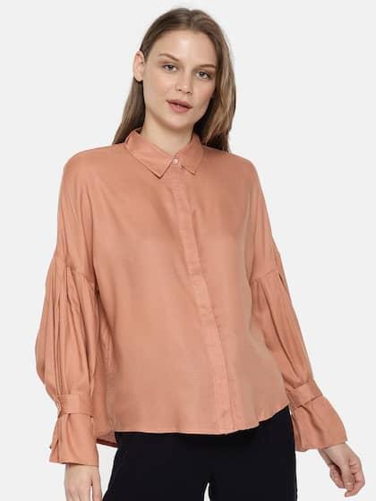 f7ff8daab1 Women Shirts - Buy Shirts for Women Online in India | Myntra
