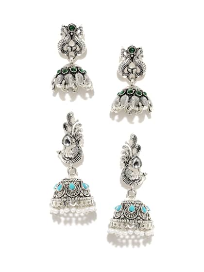 85276883db174 Jhumkas - Buy Jhumka Earrings Online in India | Myntra
