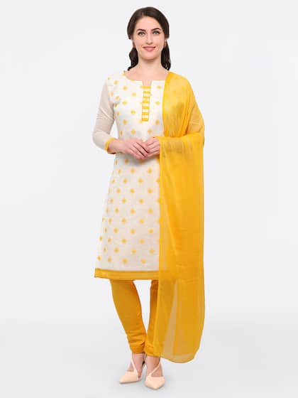 562f829493 White Dress Material - Buy White Dress Materials Online | Myntra