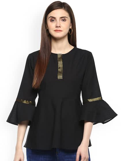 c8af6168aed78d Peplum Tops - Buy Peplum Tops for Women Online - Myntra