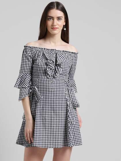 72d26f8f76c Off Shoulder Dress - Buy Off Shoulder Dresses Online | Myntra