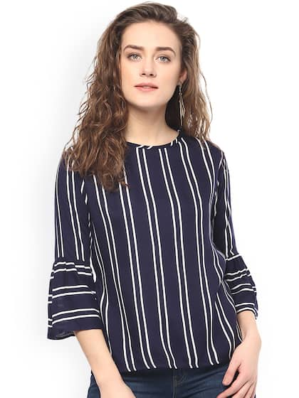 ed4ef977a7083b Bell Sleeved Tops - Buy Bell Sleeved Tops online in India