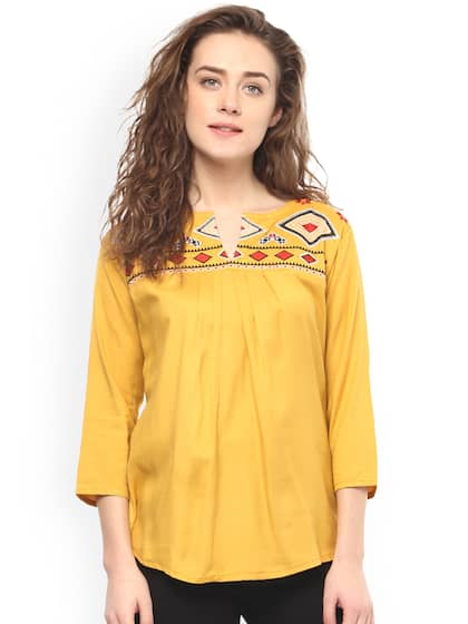 23d652894de1cd Tops - Buy Designer Tops for Girls & Women Online | Myntra