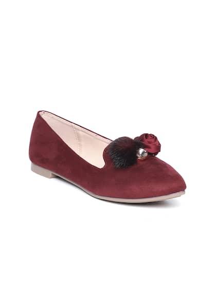 f6f67c8bc6b8db Maroon Footwear - Buy Maroon Footwear online in India