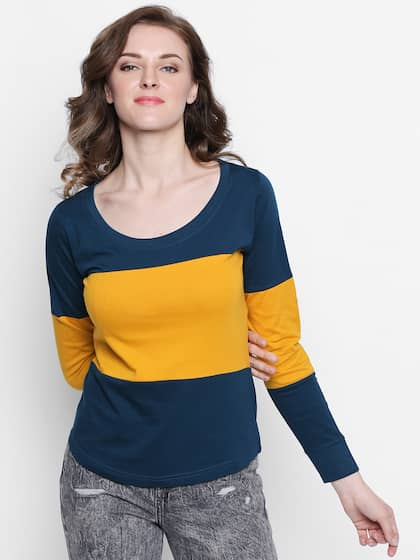 0672a112a Women Long Sleeve Tshirts - Buy Full Sleeve Tshirts for women online ...