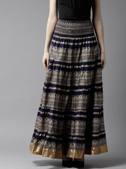 f690110e3 Long Skirts - Buy Long Skirts Online in India