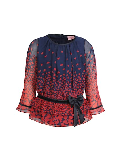 bbe4a9b9733 Girls Tops - Buy Stylish Top for Girls Online in India
