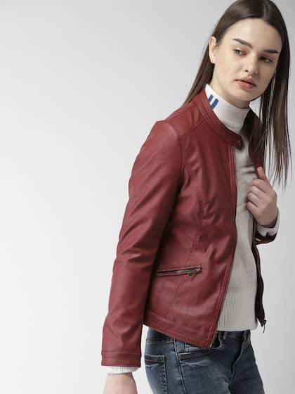 362233ec77c4 Jackets for Women - Buy Casual Leather Jackets for Women Online