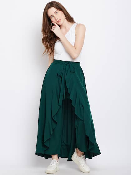 677c902f499d3 Berrylush. Women Skirt with Trousers
