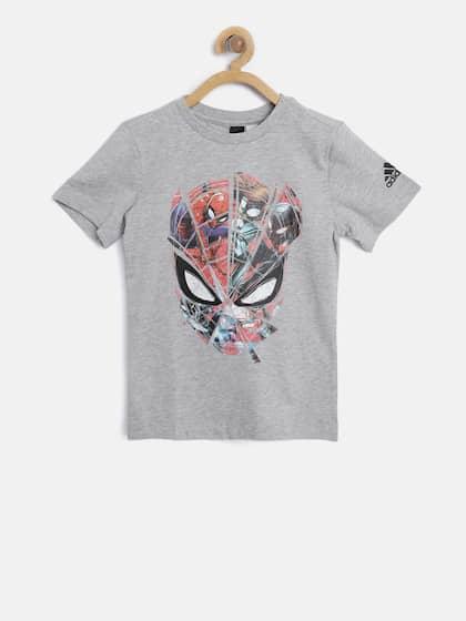 brand new ea975 d37a0 ADIDAS. Spiderman Printed T-Shirt