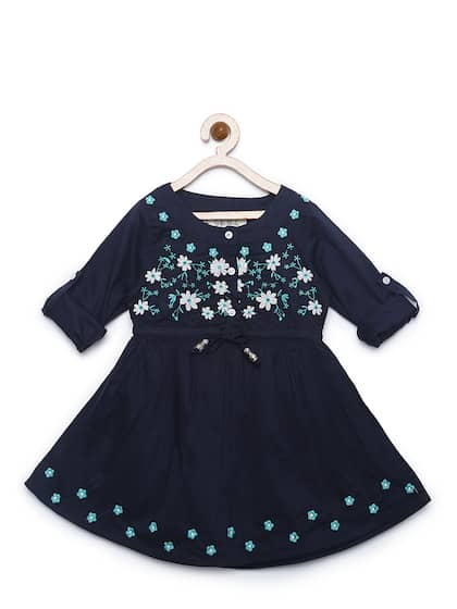 169816d04cf46 Girls Dresses - Buy Frocks & Gowns for Girls Online | Myntra