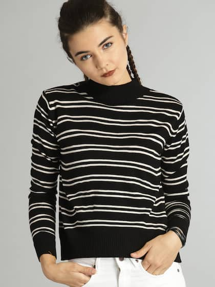 95f394b8859 Sweaters for Women - Buy Womens Sweaters Online - Myntra