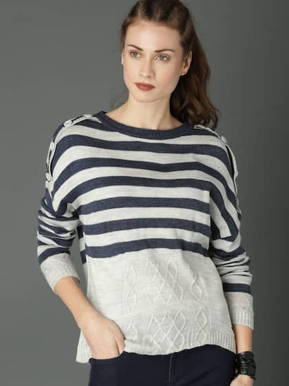 62f1b9ebff72 Sweaters for Women - Buy Womens Sweaters Online - Myntra