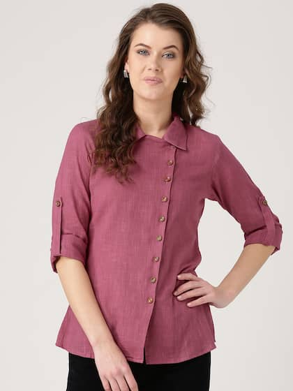 7f72664cb Women Shirts - Buy Shirts for Women Online in India | Myntra