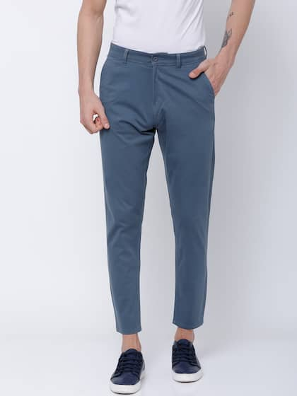 65ce4349 Trousers For Men - Buy Mens Trousers Pants Online - Myntra
