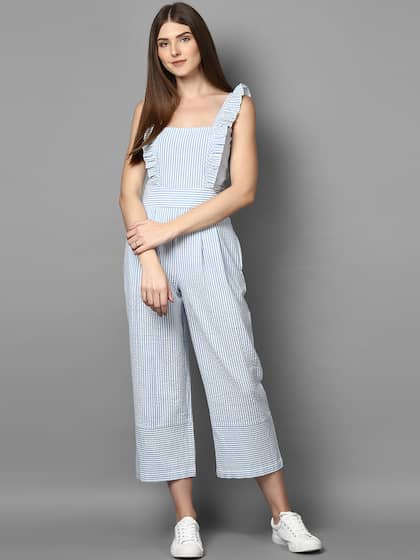 57387a72a STREET 9. Women Striped Culotte Jumpsuit