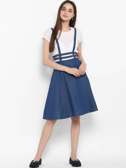 f09a27043e2 Denim Dresses - Buy Denim Dresses Online in India