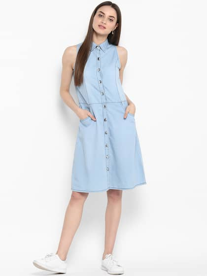 bd9a583dc5 Denim Dresses - Buy Denim Dresses Online in India