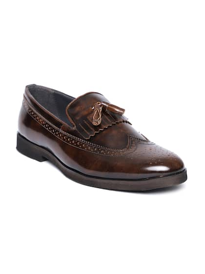 d3f0d071db90 Brown Formal Shoes - Buy Brown Formal Shoes Online in India