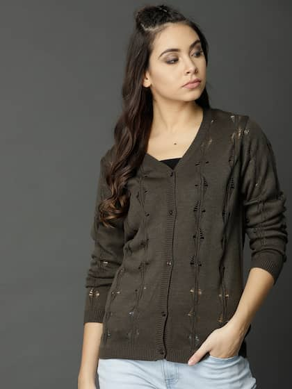 a3ed42221c Women s Cardigans - Buy Women Cardigans Online in India