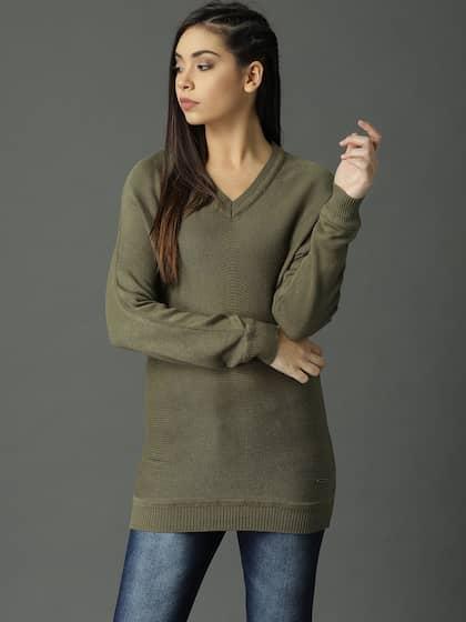 268aa745661b Sweaters for Women - Buy Womens Sweaters Online - Myntra