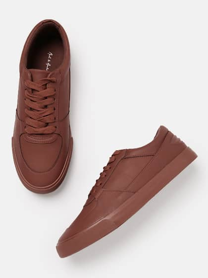 Maroon Casual Shoes - Buy Maroon Casual Shoes Online in India f3656726ae1