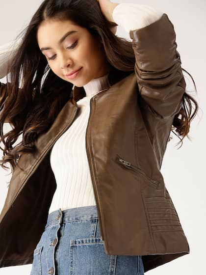 51f97dbd12e Jackets for Women - Buy Casual Leather Jackets for Women Online