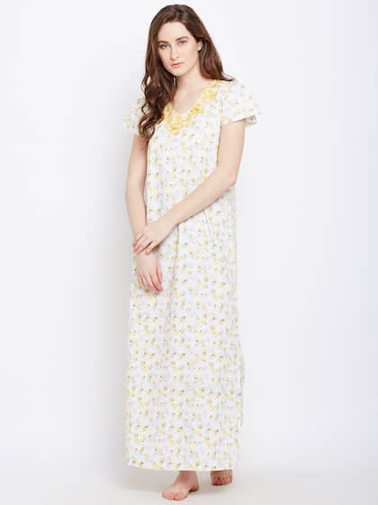 64720a7ef8 Cotton Nightdresses - Buy Cotton Nightdresses Online in India