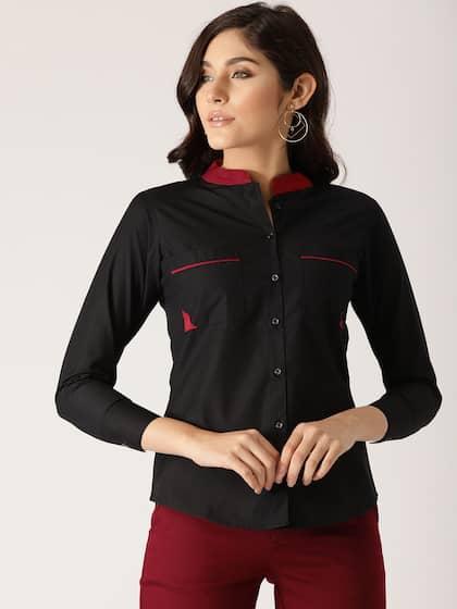 61a49836e96 Women Shirts - Buy Shirts for Women Online in India