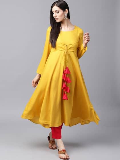 a33d32a2631 Anarkali Kurtis - Shop Anarkali Kurti For Women Online | Myntra