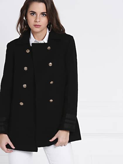 super popular fc93a fc9e5 Coats for Women - Buy Women Coats Online in India   Myntra