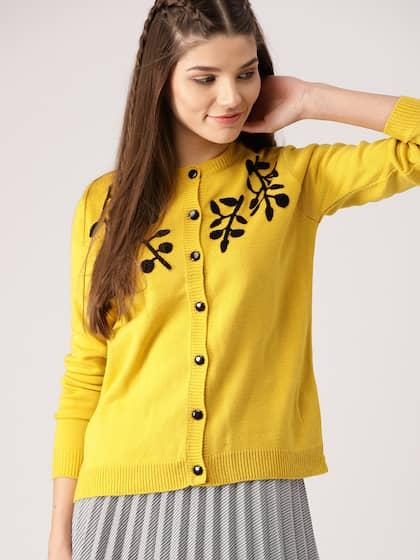 f0f60f3b4e6 Cardigans - Buy Cardigan Sweaters for Men & Women Online | Myntra