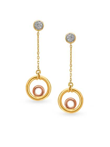 Tanishq Earrings Online In India Myntra