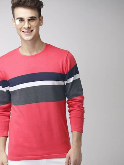 829cbd92fa Mast   Harbour. Men Colourblocked Sweater