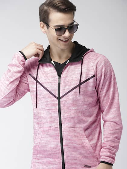 Men Pink Sweatshirts - Buy Men Pink Sweatshirts online in India 95cb10381