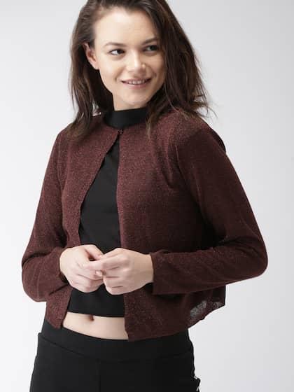 Shrugs Buy Long Shrugs For Women Online Myntra