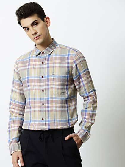 d82764a0 Plaid Shirts - Buy Plaid Shirts online in India