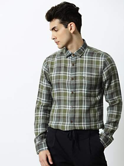 00013f6c5 Plaid Shirts - Buy Plaid Shirts online in India