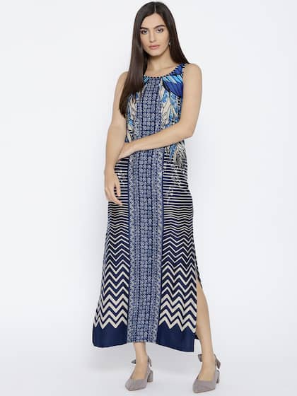 4bd1729a1c Global Desi. Women Printed Maxi Dress